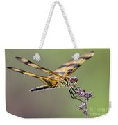 The Halloween Pennant Dragonfly Weekender Tote Bag