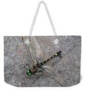 Dragonfly On Rock Weekender Tote Bag