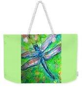 Dragonfly Spring Weekender Tote Bag