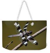 Dragonfly Twelve Spot Skimmer Weekender Tote Bag
