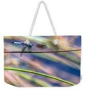 Dragonfly Walking A Tightrope Weekender Tote Bag