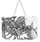 Dragon's Fire Weekender Tote Bag