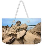 Dragon's Teeth Closeup Weekender Tote Bag