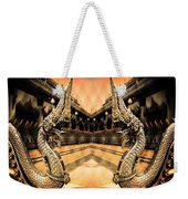 Dragon's Temple Weekender Tote Bag