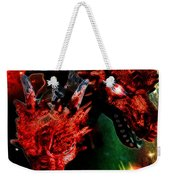 Dragons W/border Weekender Tote Bag