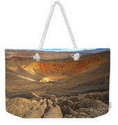 Draining Into The Crater Weekender Tote Bag