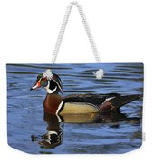 Drake Wood Duck Weekender Tote Bag
