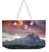 Drama In The Sky Weekender Tote Bag