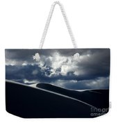 Drama Of The White Sands Weekender Tote Bag