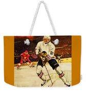 Drama On Ice Weekender Tote Bag