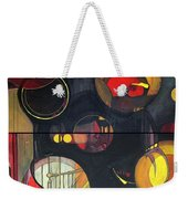 Drama Resolved 1 And 3 Weekender Tote Bag