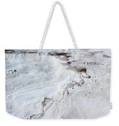 Dramatic Abstract At White Sands Weekender Tote Bag