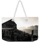 Dramatic Farm Sunrise Weekender Tote Bag