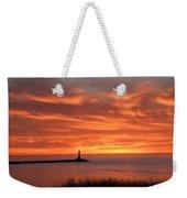 Dramatic Flaming Sunset Weekender Tote Bag