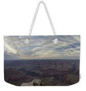 Dramatic Grand Canyon Sunset Weekender Tote Bag