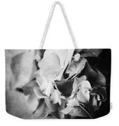 Dramatic Hydrangea In Black And White Weekender Tote Bag