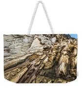 Dramatic Lava Rock Formation Called The Dragon's Teeth In Maui. Weekender Tote Bag