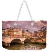 Dramatic Parisian Sky Weekender Tote Bag