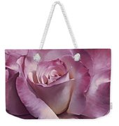 Dramatic Plum Rose Flower Weekender Tote Bag