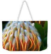 Dramatic Protea Flower Weekender Tote Bag