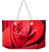 Dramatic Red Rose  Weekender Tote Bag