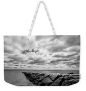 Dramatic Sky At Penfield Jetty Weekender Tote Bag