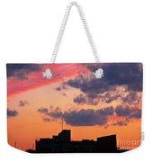 Dramatic Sky Dwarfs Halifax Skyline Weekender Tote Bag