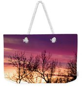 Dramatic Sunrise-l Weekender Tote Bag