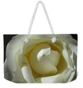 Dramatic White Rose 2 Weekender Tote Bag