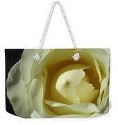 Dramatic White Rose 3 Weekender Tote Bag