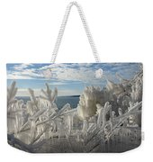 Draped In Icy Beauty Weekender Tote Bag