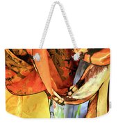 Draped Scarves Weekender Tote Bag