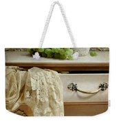 Drawer Of Lace Weekender Tote Bag by Diana Angstadt