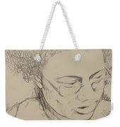 Drawing Of A Woman Weekender Tote Bag