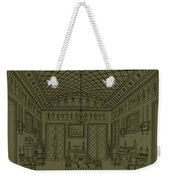 Drawing Room With Egyptian Decoration Weekender Tote Bag