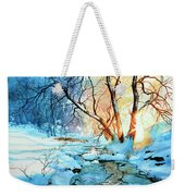 Drawn To The Sun Weekender Tote Bag