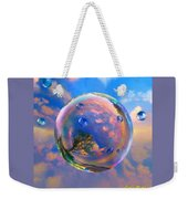 Dream Bubble Weekender Tote Bag by Robin Moline