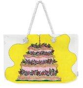 Dream Cake Weekender Tote Bag