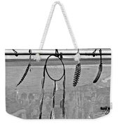 Dream Catcher B W Weekender Tote Bag
