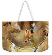 Dream Catcher- Spirit Of The Red Fox Weekender Tote Bag
