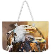 Dream Catcher - Three Eagles Weekender Tote Bag