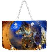 Dream Catcher - Wolf Dreams Weekender Tote Bag