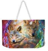 Dream Catcher - Wolf Spirits Weekender Tote Bag