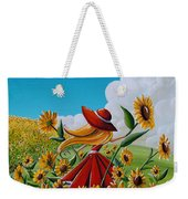 Dream Chaser Weekender Tote Bag by Cindy Thornton