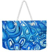 Dreaming In Blue Weekender Tote Bag