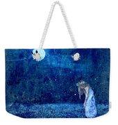 Dreaming In Blue Weekender Tote Bag by Rhonda Barrett