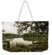 Dreaming Of Fishing At Argyle Lake Weekender Tote Bag