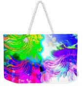 Dreaming Of Rainbow Horses Weekender Tote Bag