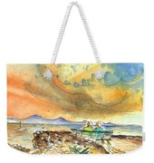 Dreaming Of Sailing In Lanzarote Weekender Tote Bag