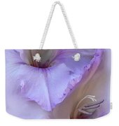 Dreams Of Purple Gladiola Flowers Weekender Tote Bag